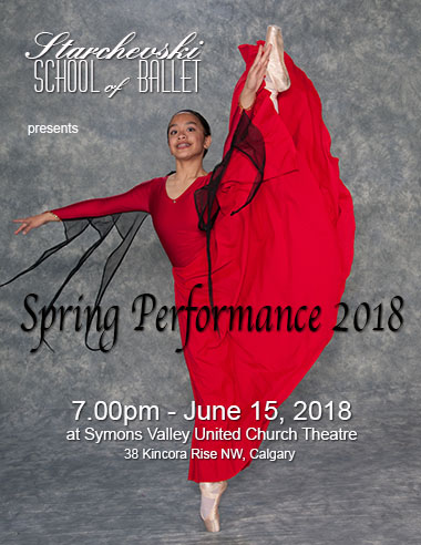 spring performance June 15, 7pm